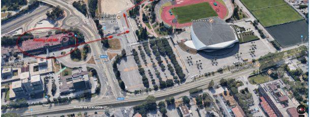 Venir au Centre médico-sportif de Nice : Stationnement et accès piétons